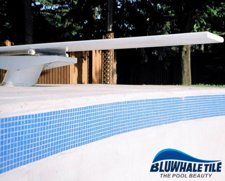 What is the depth of a pool waterline tile band?, Pool tile ...