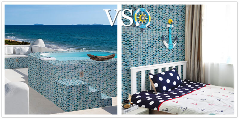 blue green glass tile look nice both in seaside spa and themed kid room wall.jpg