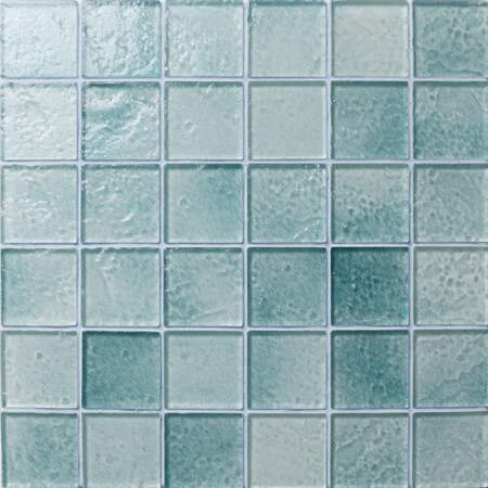 Convert Common Pool Into Artwork With Glass Pool Tile, glass ...