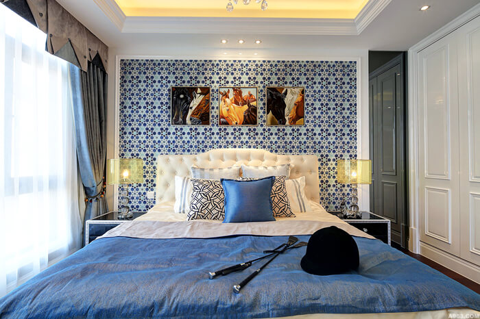 Crackle ceramic mosaic tile for bedroom wall decor.jpg