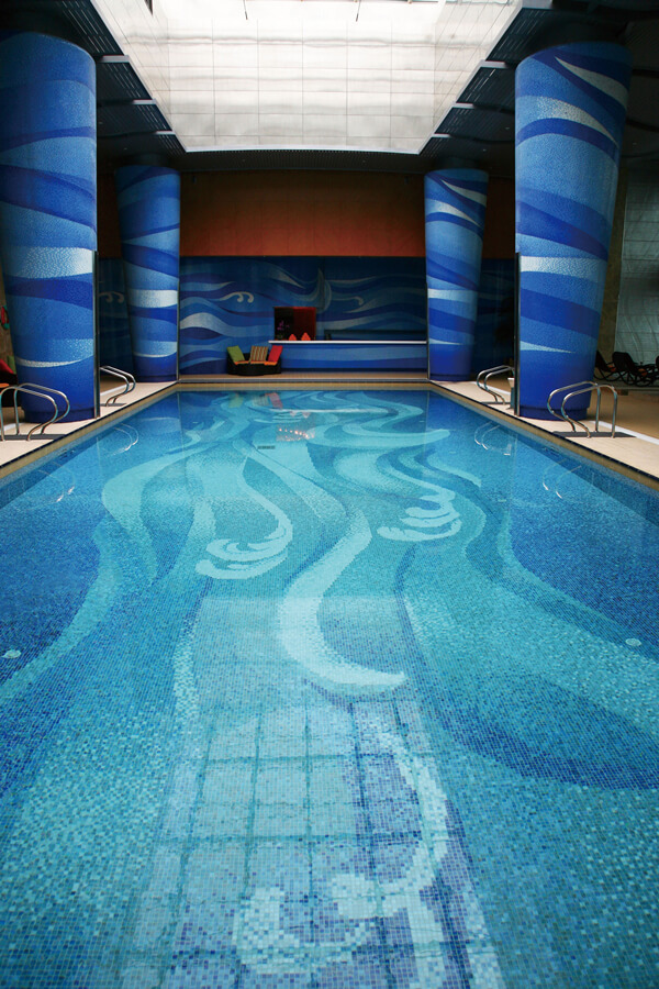 Mosaic Helps You Create A Fancy Swimming Pool Design ...