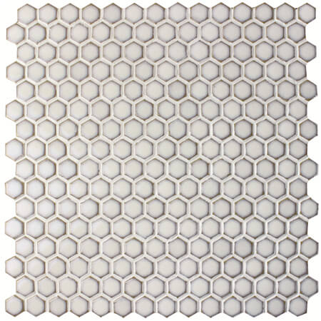 19mm hexagon shaped white pool mosaic BCZ604.jpg