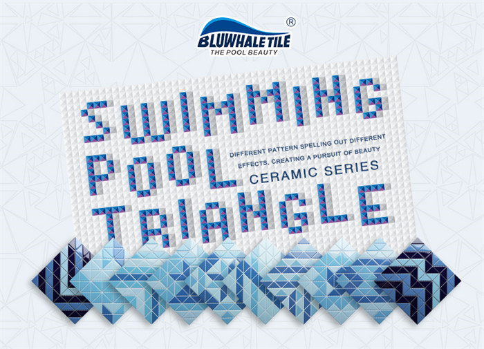 Playful geometric pattern triangle pool mosaic tiles collection.jpg