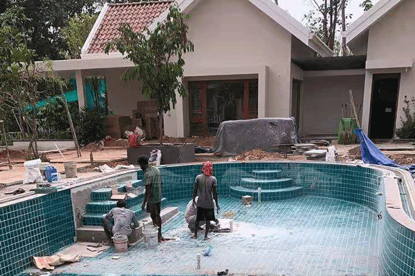 professional pool tiles supplier