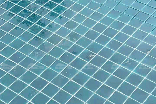 ice crackle pool mosaic tile for home decor project