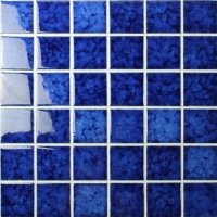 Blossom Blue BCK616-Mosaic tiles, Ceramic tiles, Blue ceramic pool mosaic tiles
