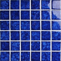 Blossom Dark Blue BCK641-Pool tiles, Ceramic mosaic, Ceramic mosaic floor tile