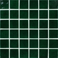 Frozen Green Crackle BCK713-Pool tile, Pool mosaic, Ceramic mosaic, Ceramic mosaic pool, Green pool tiles