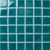 Frozen Green Crackle BCK703-Pool tiles, Pool mosaic, Ceramic mosaic, Ceramic mosaic tile backsplash