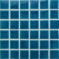Frozen Blue Heavy Crackle BCK649-Pool Mosaic, Ceramic mosaic wall tiles, Pool tiles supplies