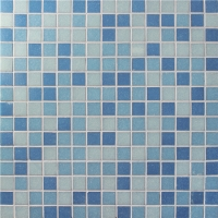 Chromatic Blue Mix BGE013-Pool tiles, Glass mosaic, Glass mosaic tile sheets
