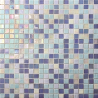 Jade Blue Mix BGC010-Mosaic tile, Glass mosaic , Glass mosaic pool tile China, Pool glass mosaic tile sale