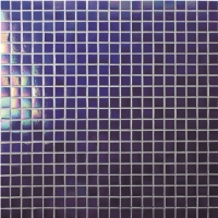Square Cobalt Blue BGC601-Pool tile, Pool mosaic, Glass mosaic, Cobalt blue swimming pool tile
