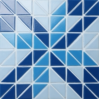Santorini Windmill TRG-SA-WM1-Pool Tile, Triangle Tile, Pool Tile Colors