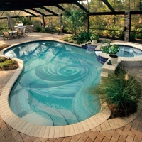 Pool Art BGE026-Pool art, Pool art tile mosaics, Swimming pool art mural mosaics