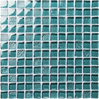 Crystal Glass BRH002-Glass mosaic tile, Crystal glass mosaic, Crystal glass mosaic tile shapes