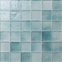 Crystal Glass BRK002-Glass mosaic tile, Crystal ice glass mosaic, Crystal glass tile wholesale