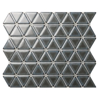 Triangle Dark Grey BCZ930A-grey mosaic tiles, mosaic porcelain tile, kitchen mosaic wall tiles