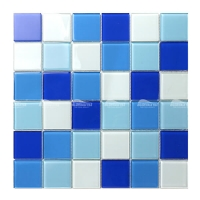 Crystal Glass BGK001F2-mosaics for pools, pool glass tiles, glass pool tile