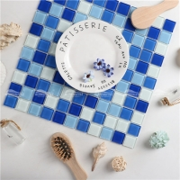 Crystal Glass BGI003F2-little glass crystal mosaic, glass pool tile suppliers, glass mosaic crystal glass