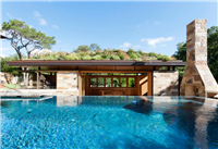 Pool House In the City of Westlake Hills-Pool house, Swimming pool design, Swimming pool mosaic tile supplies