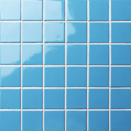 Classic Blue Glossy BCK626,Mosaic tiles, Ceramic mosaic, Porcelain pool mosaic tiles