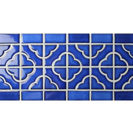 Border Tile Flower Pattern Bczb006