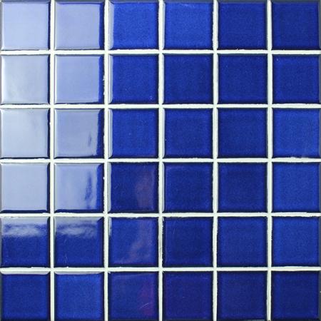 Fambe Cobalt Blue Bck601 Mosaic Tile Blue Pool Tiles