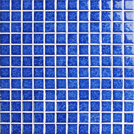 Blossom blue bch611 azulejos de mosaico mosaico de - Azulejos para piscina ...