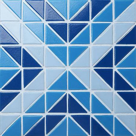 Santorini Square Trg Sa Sq Pool Tile Triangle Tile