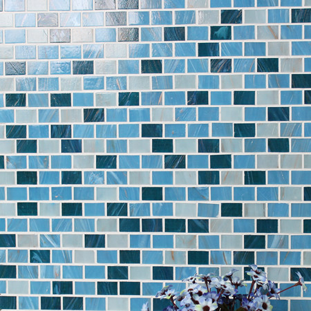 Luxury Blue Gold Line BGZ012,Mosaic tile, Glass mosaic, Glass subway mosaic tile, Hot melt mosaic tile for sale