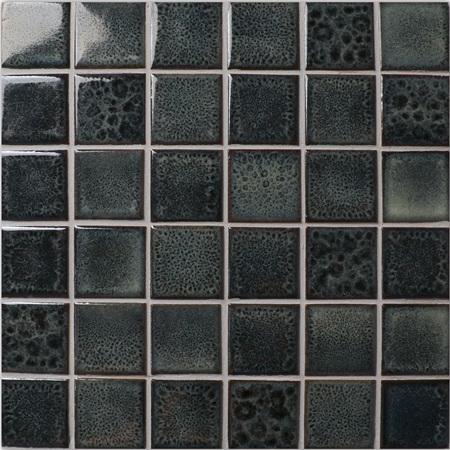 Fambe Black Bck016 فسيفساء السيراميك بلاط السيراميك فسيفساء
