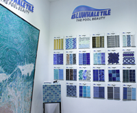 Share For Better: Look Back To Bluwhale Tile At Pool Spa Expo 2018-Wholesale pool tiles, Pool tile company, Swimming pool mosaic tiles