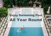 Enjoy Your Swimming Pool All Year Round-year round swimming pool design, pool tiles online, blue pool tiles for sale