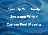 Turn Up Your lively Seascape With 4 Custom Pool Mosaics-custom pool mosaic, custom mosaic for pool, mosaic art for pools