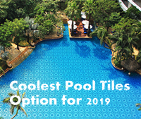 The Coolest Porcelain Pool Tile Options For 2019 At Bluwhale Tile-porcelain pool tile, triangle pool tile, pool tile mosaics wholesale
