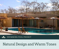 Swimming Pool Project: Natural Design and Warm Tones-swimming pool tiles suppliers, pool tile mosaics wholesale, porcelain pool tiles manufacturers