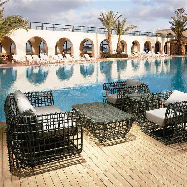 Outdoor Sofa Set RS301-CT,pool furniture outdoor, outdoor furniture sofa set, rattan sofa set outdoor