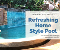 Swimming Pool Project: How To Design Refreshing Home Pool Style In 2020-swimming pool design ideas, wholesale pool supplies, best tile for pool waterline, pool mosaic wholesale tiles