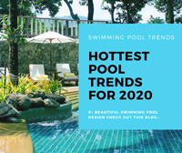 What Is The Hottest Swimming Pool Trends For 2020-swimming pool design, pool deck ideas, swimming pool mosaic tiles