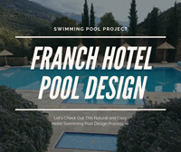 Swimming Pool Project: Appealing France Hotel Pool Design-pool design ideas, mosaic murals patterns, swimming pool tiles suppliers