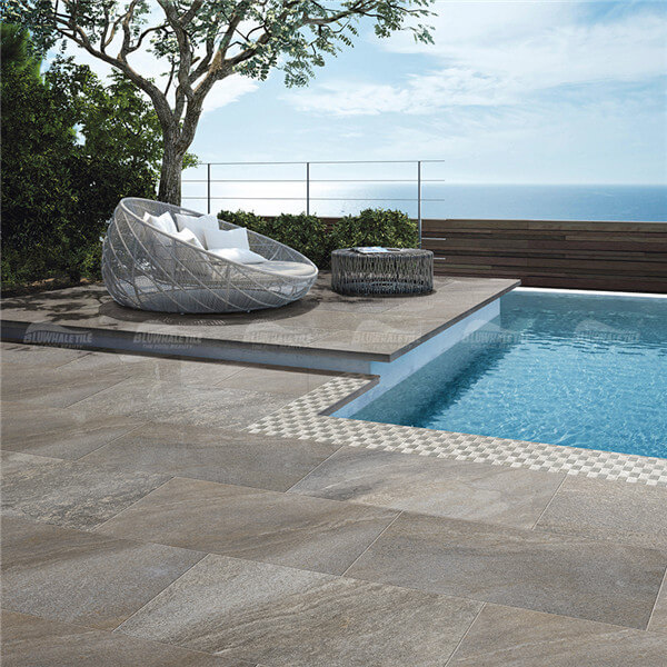 20mm Pool Deck ZME6303-2,porcelain tile pool deck, 2cm outdoor porcelain tiles, matt finish porcelain tiles