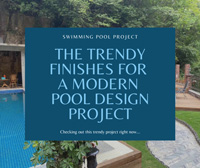 Swimming Pool Project: The Trendy Finishes For A Modern Pool Design Project-waterline pool tiles, backyard pool design ideas, pool mosaic wholesale tiles